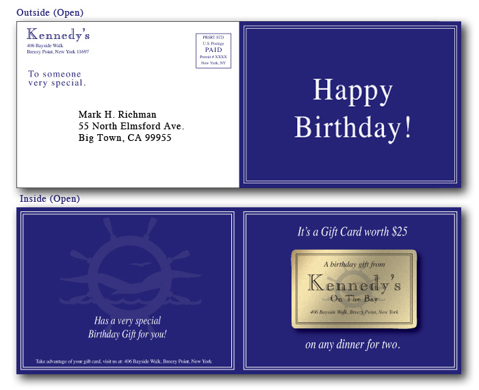 Birthday Marketing From Plastic Card City